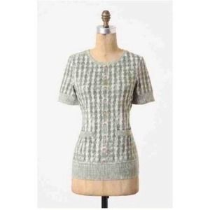 Anthropologie {Pilcro} Contrary to Winter Tee S